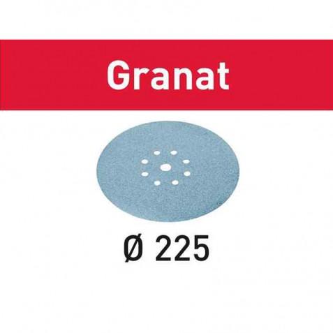 Discos de lixa STF D225/8 P150 GR/25 Granat
