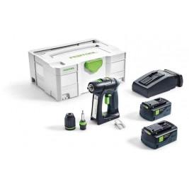 Aparafusador bateria Festool C18 5,2-Plus