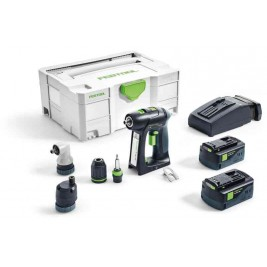 Aparafusador bateria Festool C18 5,2-Set
