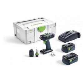Aparafusador bateria T18+3 Li 5,2-Plus